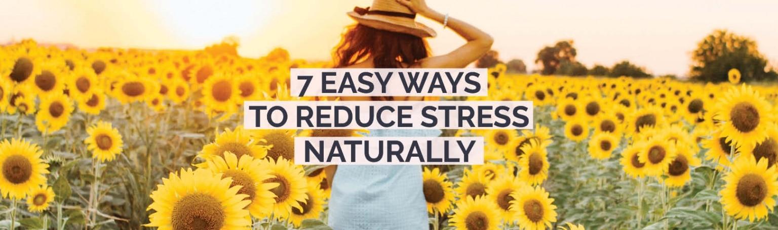 reduce stress naturally