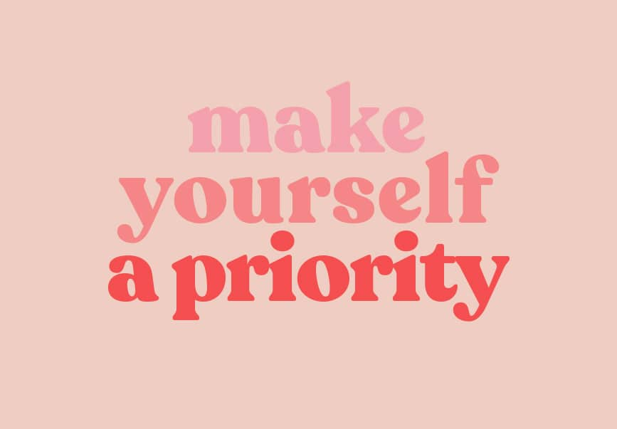 make yourself a priority quote