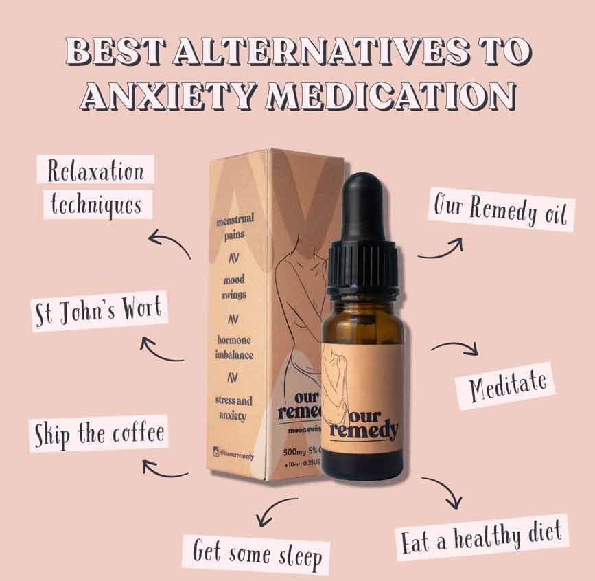 alternatives to anxiety medication